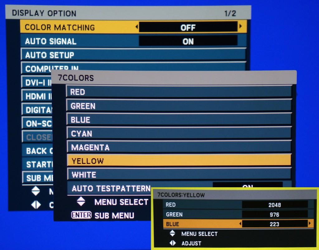 cms settings