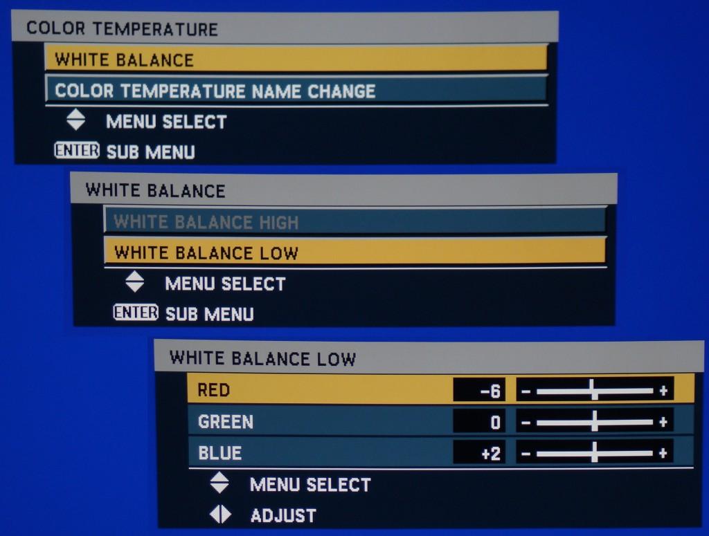 rgb settings