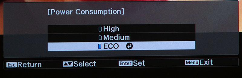 tw9300 lamp mode